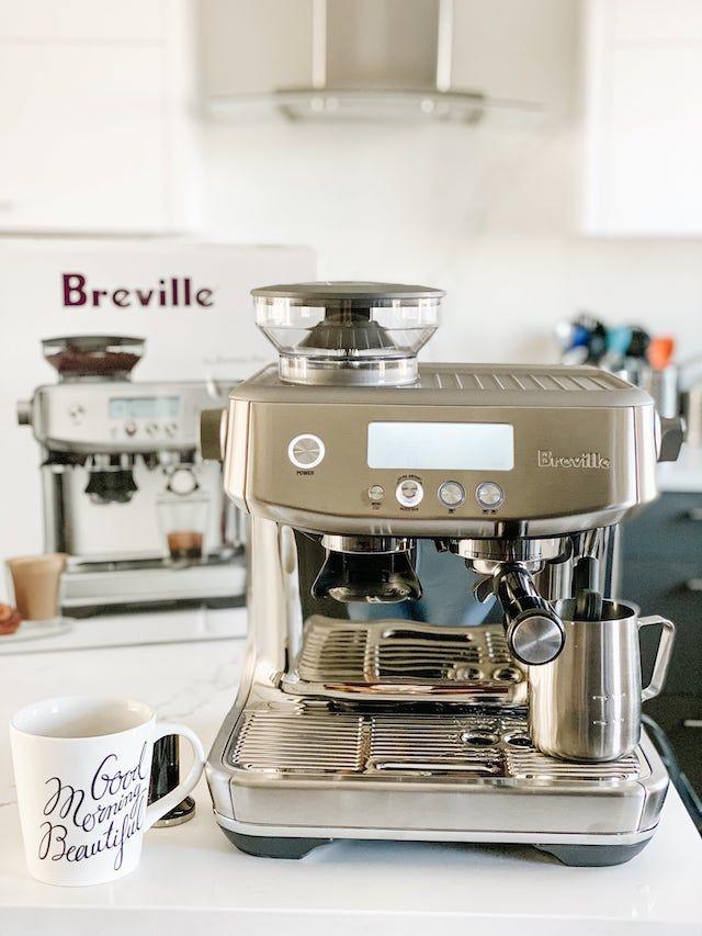 Breville Barista Pro Review Breville Barista Coffee Preparation
