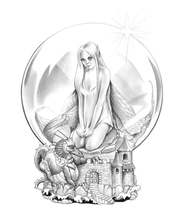 crystal ball coloring pages | 561 best Adult Coloring Pages images on Pinterest ...