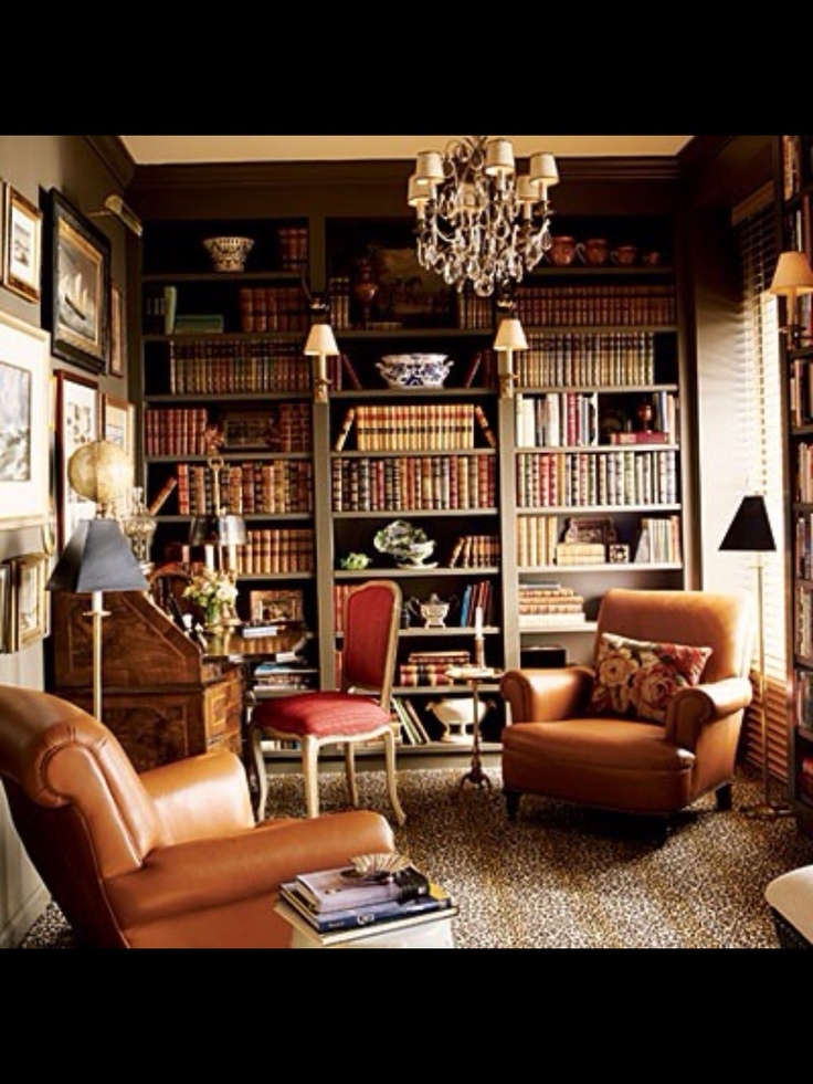 Great Room, Great Library.