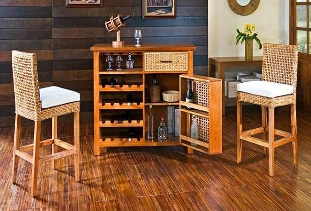 17 mejores ideas sobre bar de sala de estar en pinterest for Bar licorera de madera para sala
