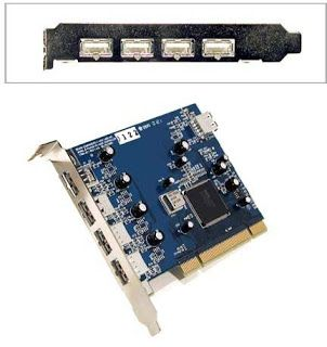 Egypt Online Shopping: USB 2.0 5-Port PCI Card