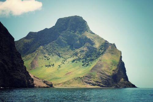Archipielago de Juan Fernandez, Isla de Robinson Crusoe, el Alto y Puerto Ingles, Chile.