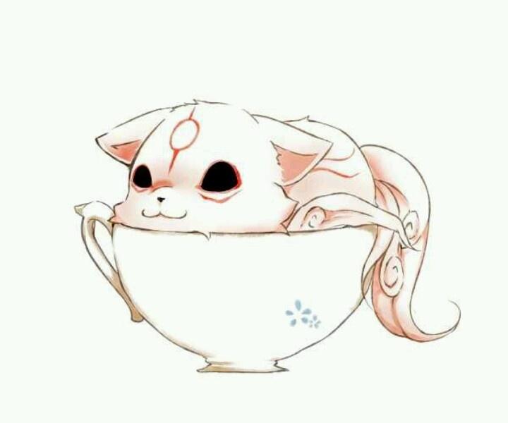 Chibiterasu -- Okami - OMG, it's so cute it hurts.