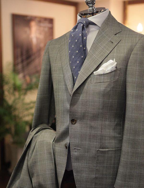Glen Plaid Suit by B&Tailor