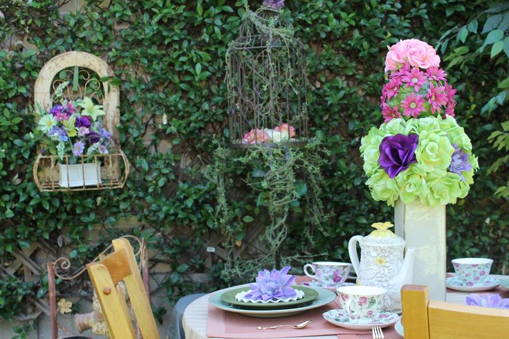 The 7 best Garden High Tea Party images on Pinterest | High tea ...