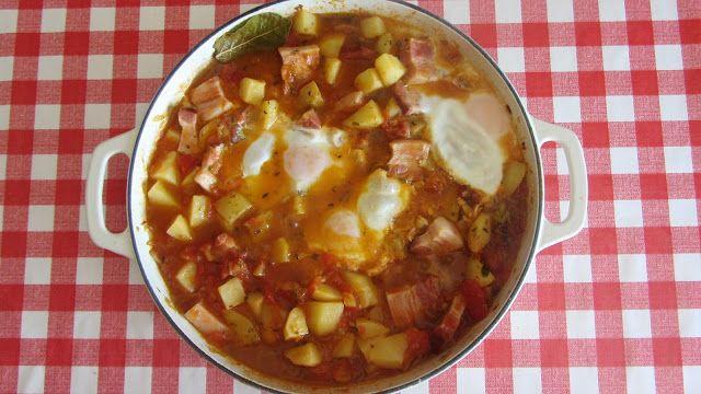A Casinha das Bolachas: Tomatada com Batatas e Bacom