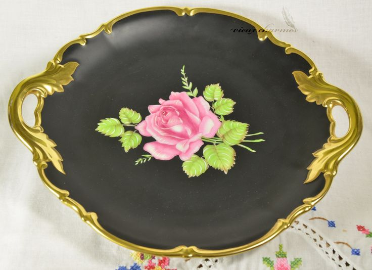 Hand Painted Plates Made In Germany