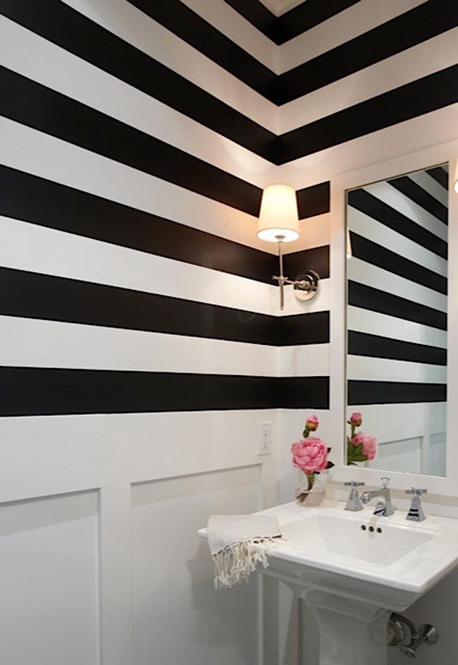 M s de 25 ideas incre bles sobre papel negro en pinterest for Bathroom wallpaper wall coverings