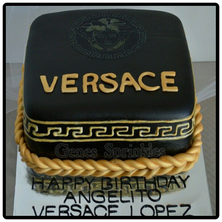 Versace Cake My Birthday Pinterest Versace And Cakes