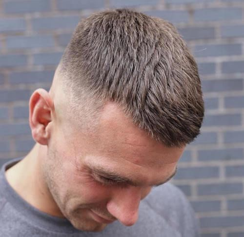 Textured and Spiky Crew Cut - Crew Cut Haircut