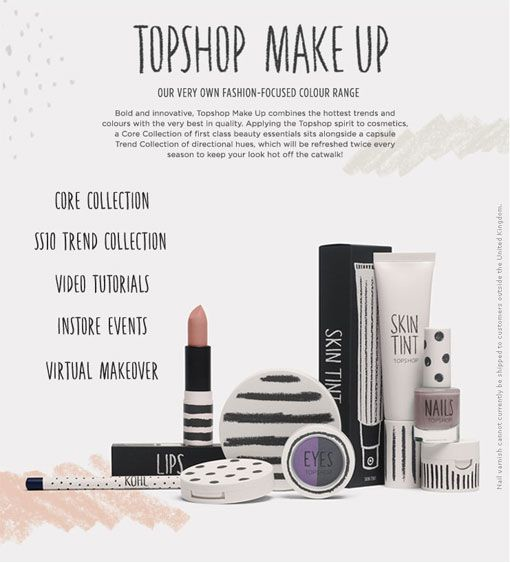 0637c409495 topshop make-up