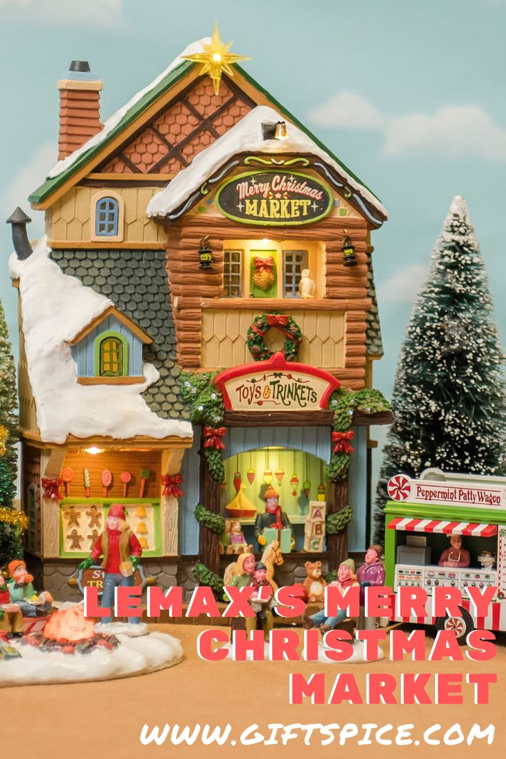 Lemax's Merry Christmas Market in 2020 Christmas market