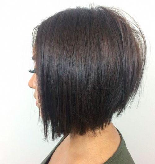 Dernières coiffures de bob en couches. #layeredbobhairstyles