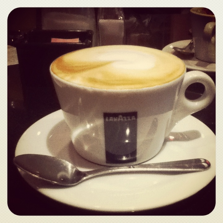 Perfect coffee from #Lavazza