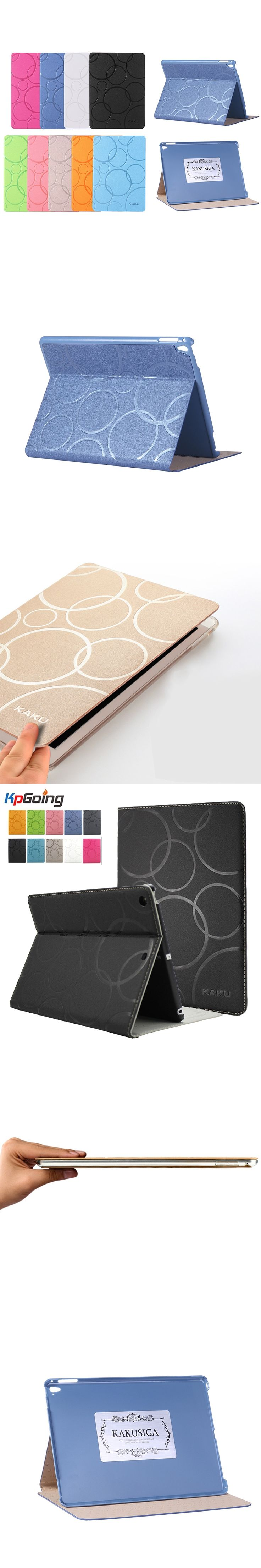 Case for IPad 2 3 4,Solid Color Geometric PU Leather Ultra Slim Cover Ebook Case for IPad 2/3/4  Flip Stand Tablet Cover Bag Fun