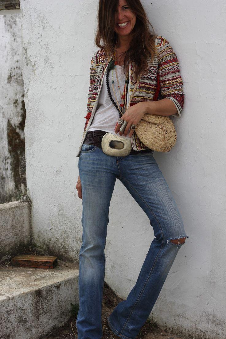 ethnic jacket for the countryside | mytenida en stylelovely.com