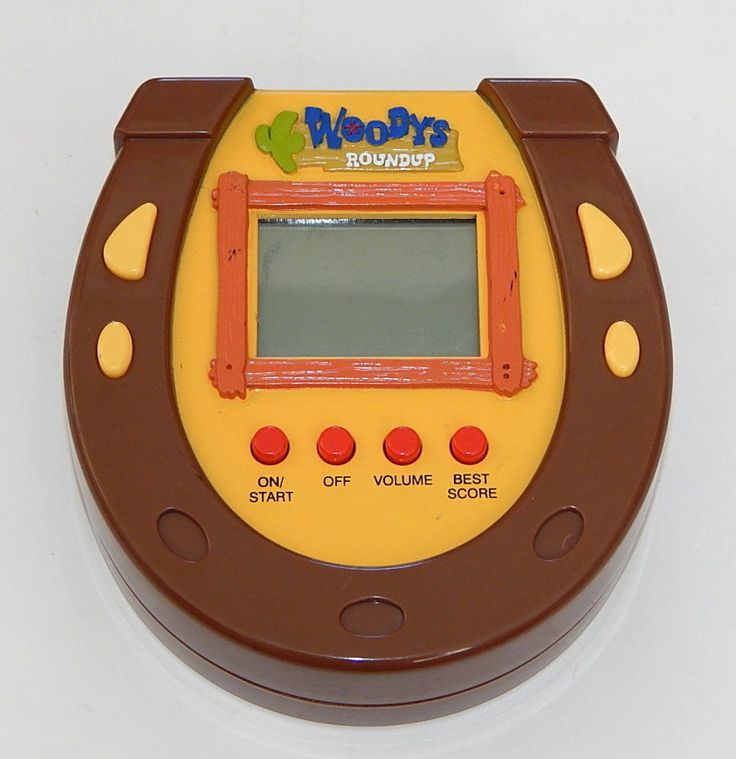 Woody's Roundup Im a Thinking Toy Electronic Game Toy Story 2 R10813 #Disney