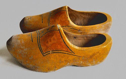 Parents bought me Klompen - Wooden shoes