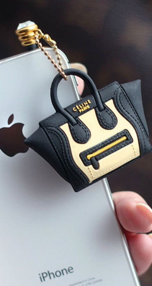 haha this is ridiculous whose iphone needs a celine bag