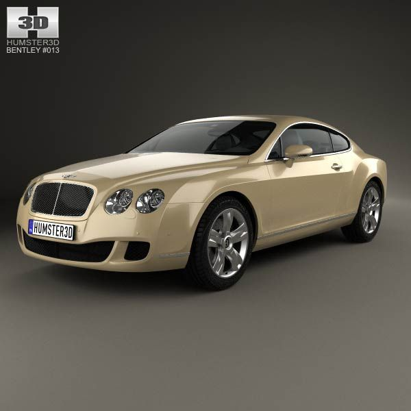 Bentley Continental GT 2007 3d Model From Humster3d.com