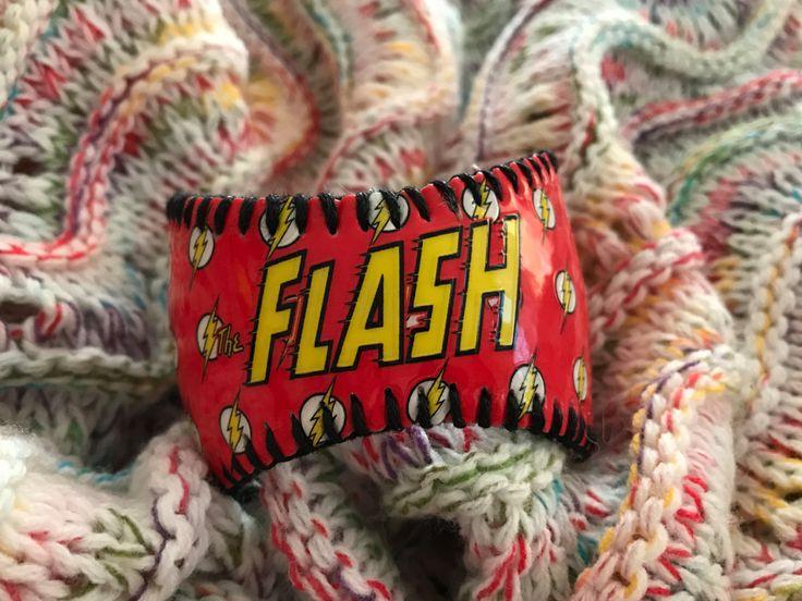 Flash Baseball Cuff Bracelet by deniseandkimdesigns on Etsy