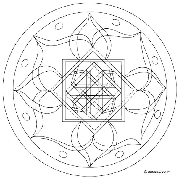 Free Printable Mandala Coloring Pages Each image prints