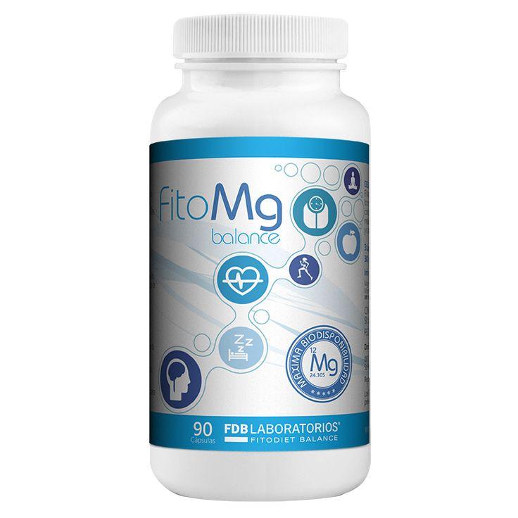 FitoMg Balance mejora la función cerebral, con Glicina, Piridoxal-5-fosfato (Vitamina B6) y L-Taurina. El magnesio es uno de los minerales más deficiente en la dieta occidental actual. FitoMg reúne una combinación sinérgica de bisglicinato de magnesio y citrato de magnesio que mejoran la absorción del magnesio a nivel celular y su distribución en todo el organismo. Todo ello gracias a su alta biodisponibilidad. Para combatir el cansancio y la fatiga. Presentación en pack de 90 cápsulas
