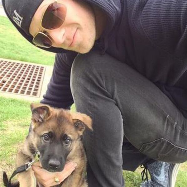 Florida Georgia Line's Brian Kelley introduced his adorable new dog via Twitter! Whatta cutie!