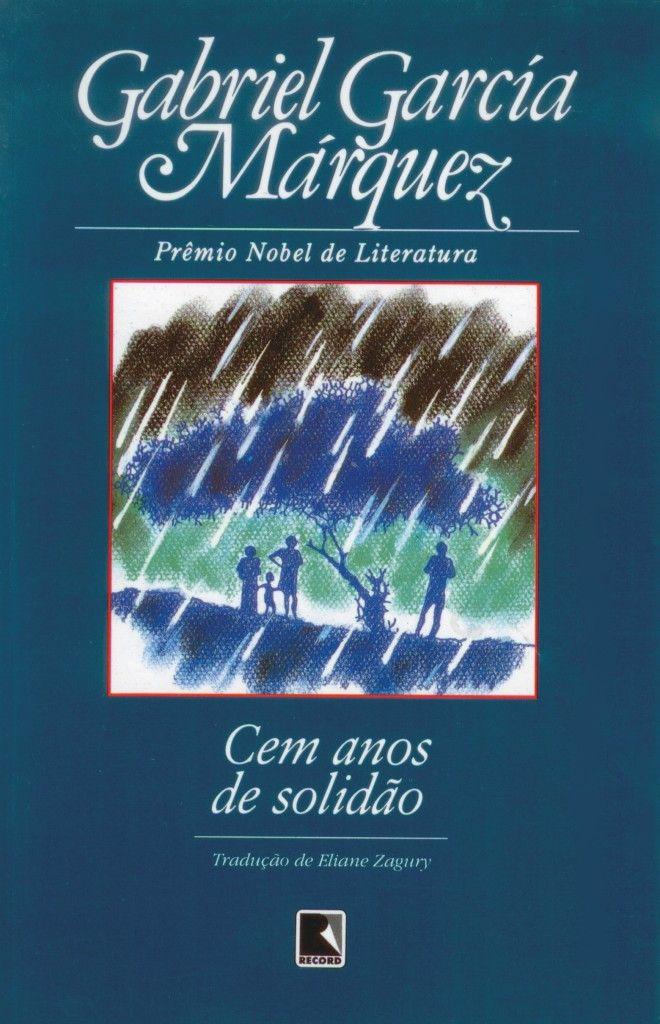 Livro Cem anos de solidão Gabriel Garcia Marquez