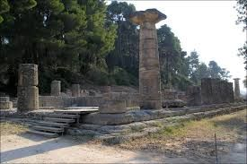 Ancient Olympia  - The Temple of Hera