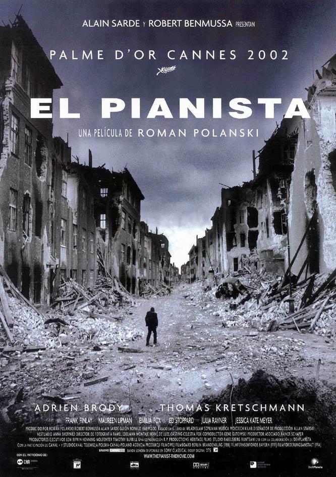 El pianista (2002) Reino Unido. Dir: Roman Polanski. Drama. Nazismo. Biográfico - DVD CINE 1468