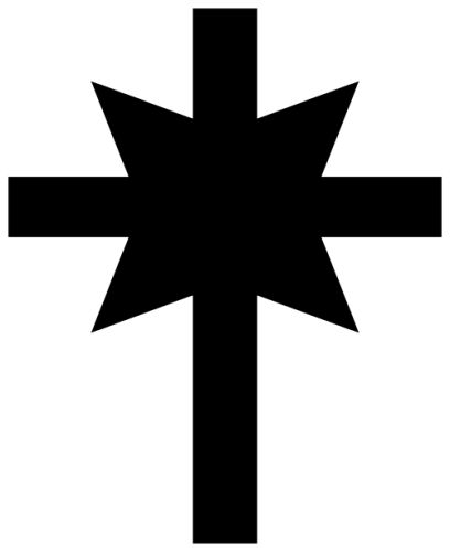 Image of the Church of Scientology cross symbol