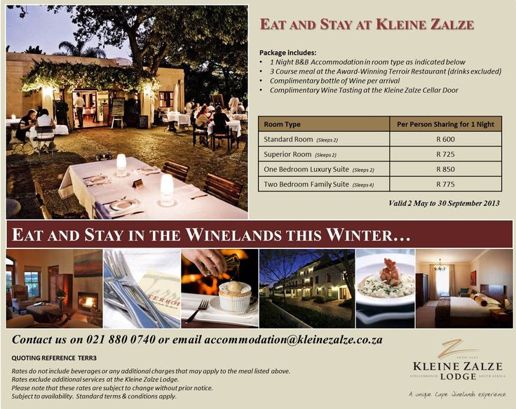 Winter Warmer in the Winelands