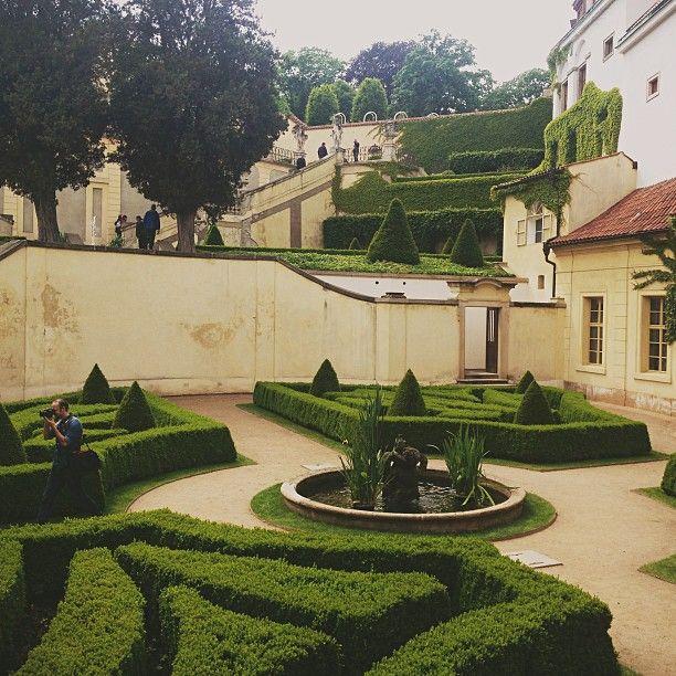 Vrtbovská zahrada in Praha, Hlavní město Praha