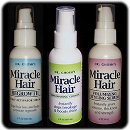 Natural hair line products by Dr. Dipak Ghosh