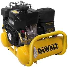 Dewalt 4-Gallon 155-Psi Twin Stack Portable Gas Air Compressor Dxcmta5