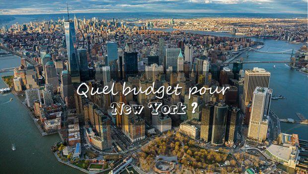 Combien coûte un voyage à New York ?