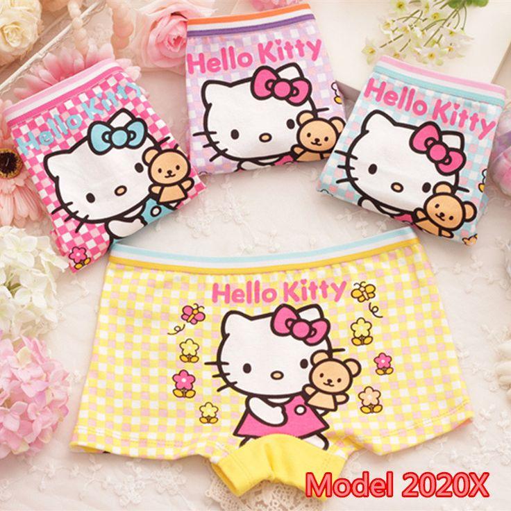 Girls cotton undies - hello kitty, cartoon, minnie mouse, chickens, dora, bear, disney princess $1.76 from Aliexpress