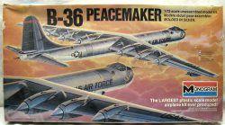 Monogram Convair B36 Giant Bomber Peacemaker Model Kit.