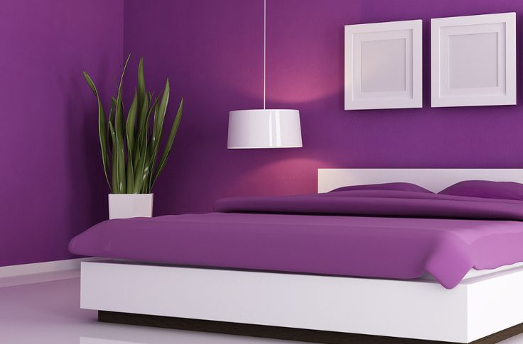 17 meilleures id es propos de murs violets sur pinterest couleurs de peinture violet. Black Bedroom Furniture Sets. Home Design Ideas