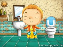 Potty Training App - Kinder - iPad iPhone