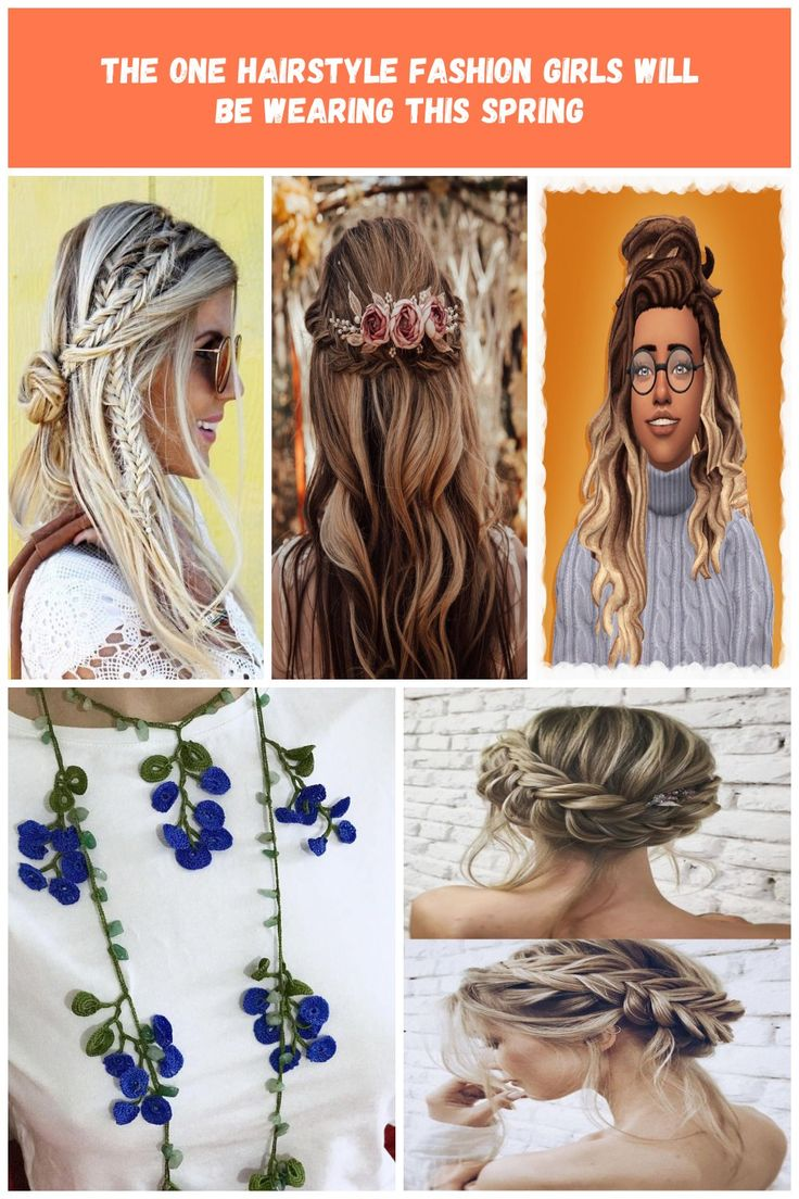French braids, boxer braids, fishtail braids, these are what trend ladies are g…