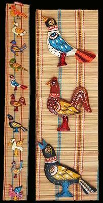 Wall Hanging Mats that we offer look very appealing and unique for decorating interiors at homes and offices. Its made up off bamboo slice weaven mats and Wooden Bird figures pasted on it which is long lasting as well as attractive looking. We provide a wide array of beautifully crafted Bamboo Handicraft Items.