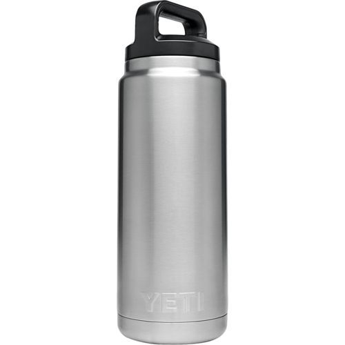 Yeti® 26 Oz. Rambler Bottle Silver - Thermos Cups And Koozies at Academy Sports