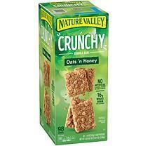 Nature Valley Oats 'n Honey Crunchy Granola Bars (0.75 oz., 49 pk.) - #crunchy #granola #honey #nature #valley -