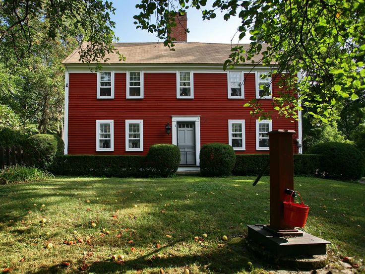 Again Love Red Houses Exteriors Pinterest Red