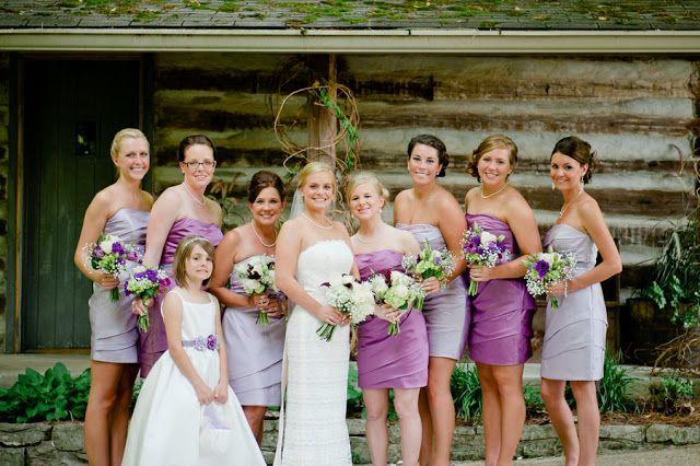 bridesmaid dresses multiple shades purple   Magic Dress Bridesmaid UK: Country Wedding Bridesmaid Dresses Ideas ...