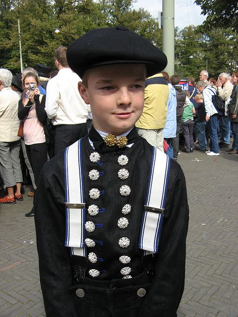 Traditional boys clothing, Staphorst, Holland #Overijssel #Staphorst