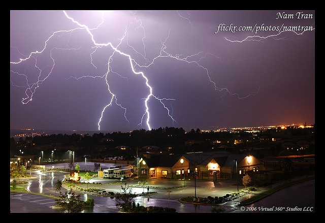 how to take pictures of lightning
