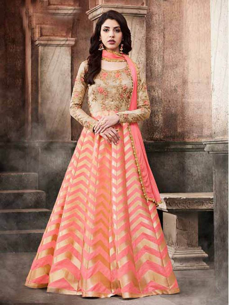 New Collection Wedding Bridal Party wear Floor Length Anarkali Salwar Kameez #Shoppingover #SalwarKameez